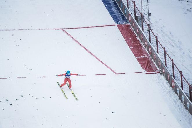 Kahevõistluse MK-etapp Otepääl 04.01 - Naiste eelvõistlus