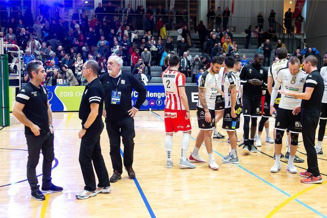 Võrkpalli Challenge Cupi 1-16-finaal, Saaremaa,Poitiers' Stade Poitevini  Pot