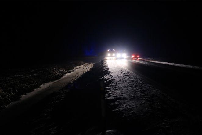 Rekka kraavis Tallinn-Tartu maanteel