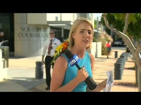 VIDEO: Paanika! Lind maandub reporteri õlale, kui viimane otse-eetriks valmistub