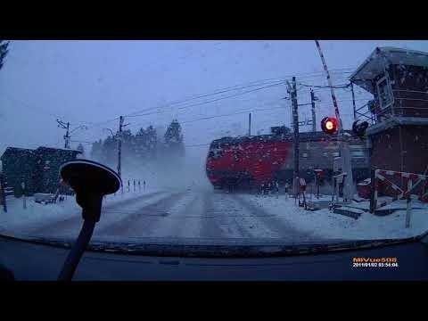 VIDEO   Raudteetöötaja uskumatu hooletus