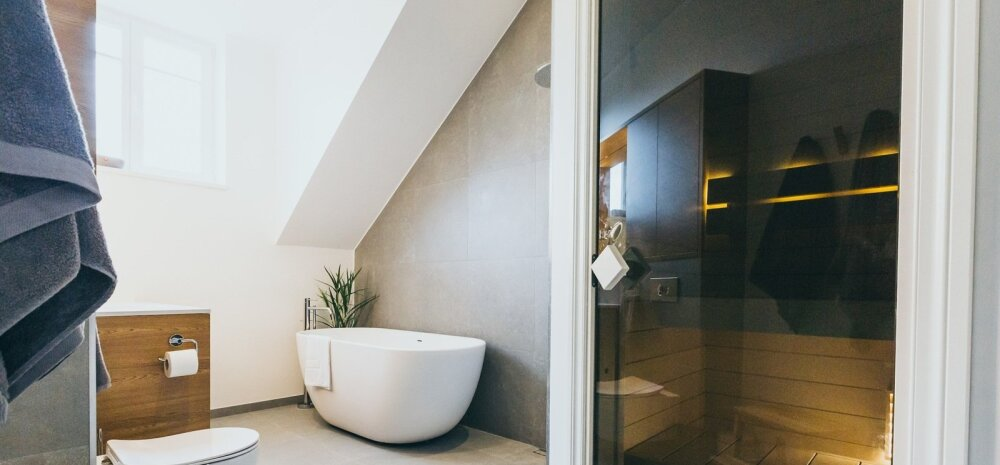 """""""MEIE KODU 2018"""" │ Pööningukorrusele ehitatud vannituba Supilinnas"""