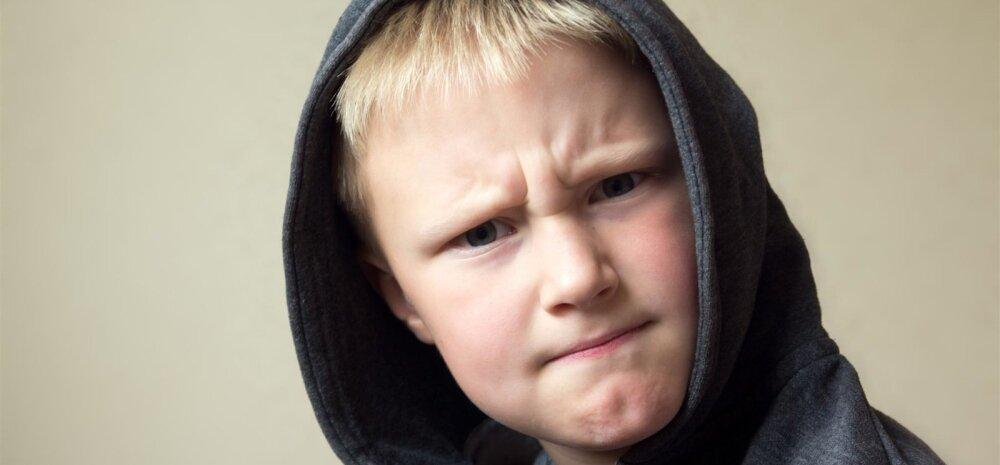 Kui laps kiusab oma vanemat