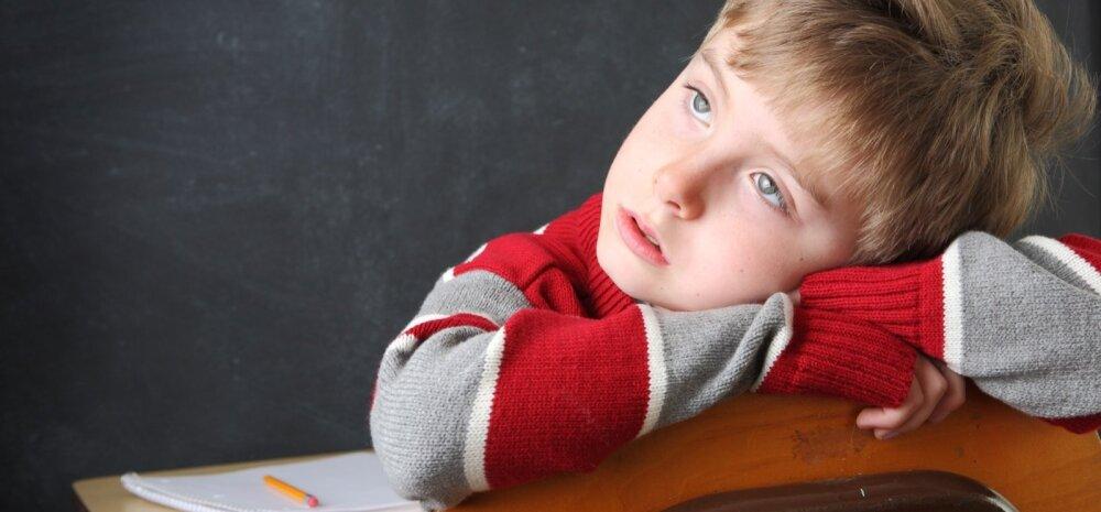 Laste koolistress — see on päriselt olemas!