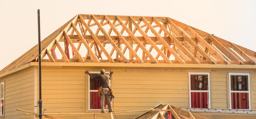 Проблемы на рынке недвижимости Северных стран влияют на промышленность и рабочую силу Эстонии