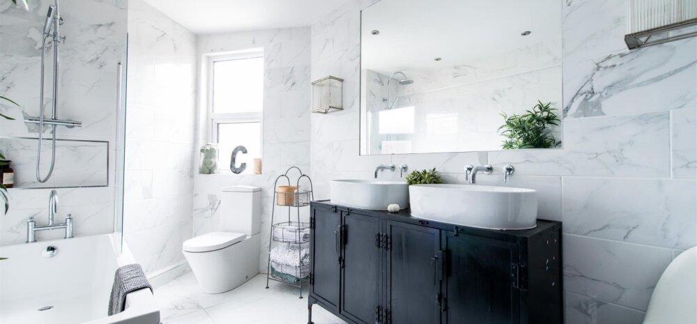 Tualettruum ja vannituba — kas kokku või lahku?