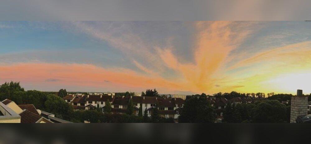 Päikeseloojang Tallinna kohal