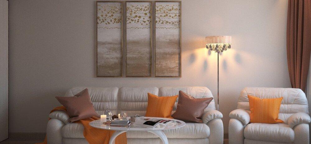 СОВЕТЫ | Как выбрать мебель и декор для маленькой гостиной