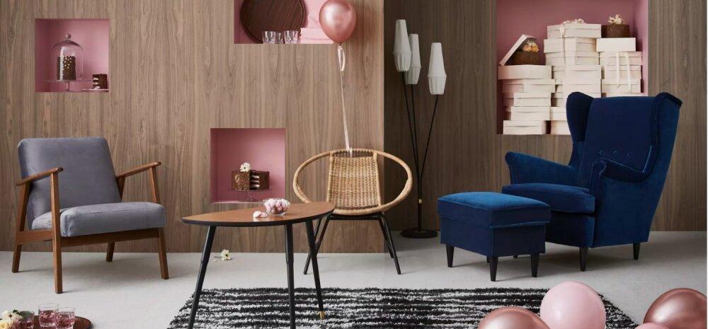 IKEA taastoodab oma 75. juubeli puhul möödunud kümnenditest pärit hitte