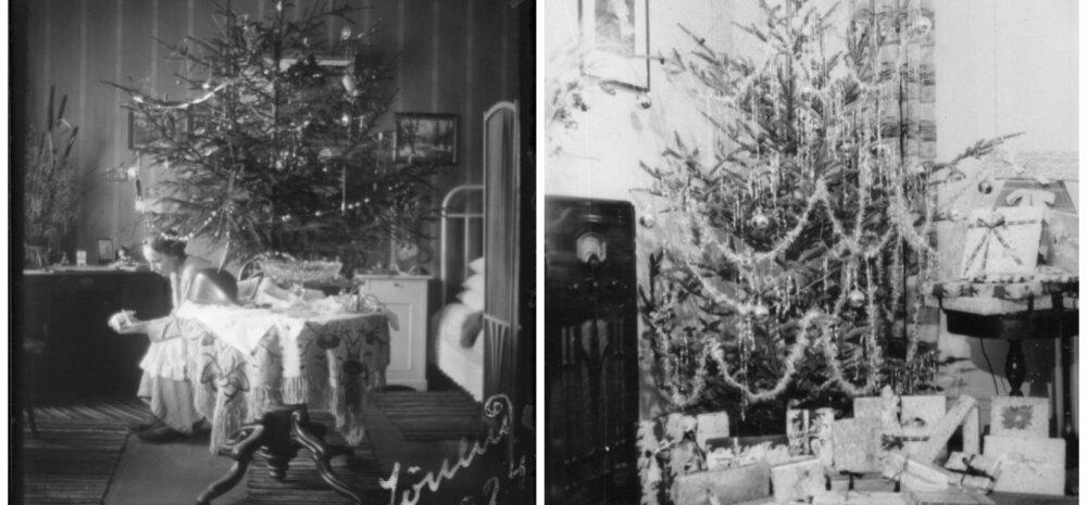 VANAD FOTOD: millised nägid välja pühadeaegsed kodud eelmisel sajandil