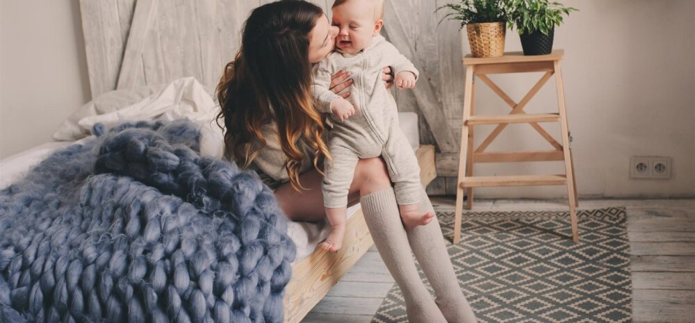 Jälgi, et beebi ei vaataks toas ainult ühes suunas