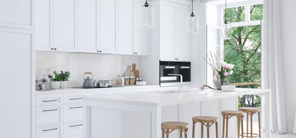 Seitse nippi, kuidas planeerida kööki nagu sisearhitekt