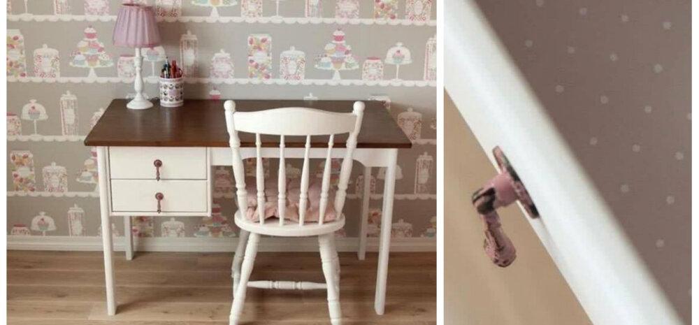 ДЕЛАЕМ САМИ │ Меловая краска: перекрашиваем письменный стол