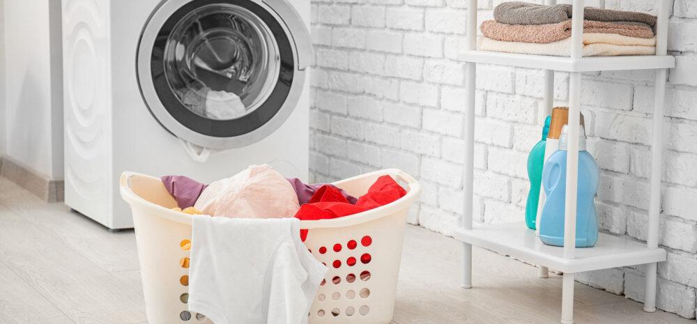 Kas pesed pesu liiga harva? Loe, mida ja kui tihti on vaja kindlasti pesta!