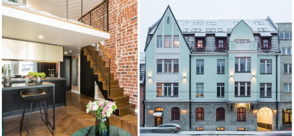 ФОТО | В Таллинне открылся роскошный арендный дом Авангард