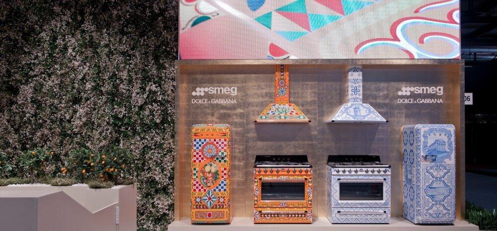 Smegi ja Dolce & Gabbana koostöö