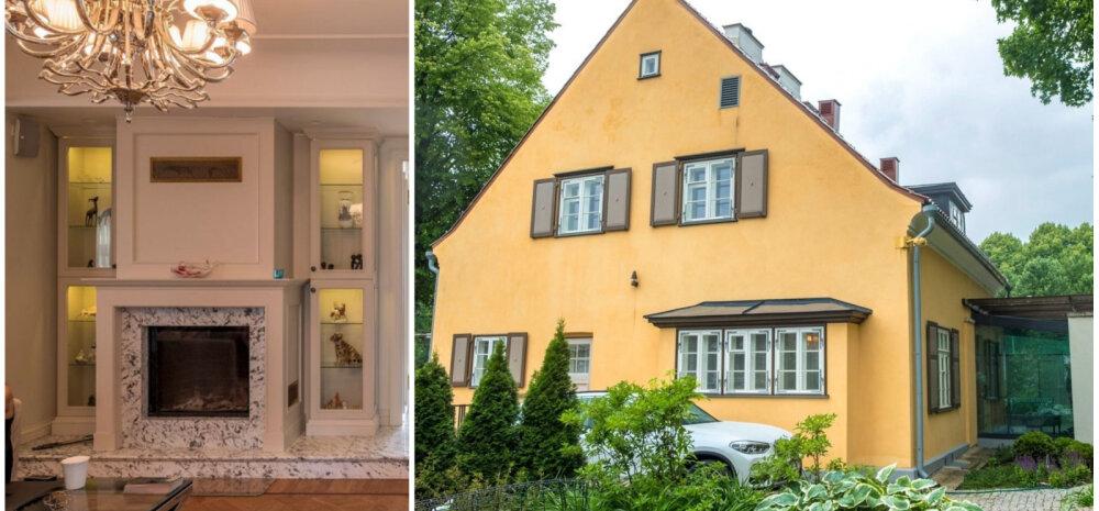 ФОТО │ Пуленепробиваемый дом в Таллинне: смотрите, как живет владелец обучающей фирмы с оборотом 100 млн долларов