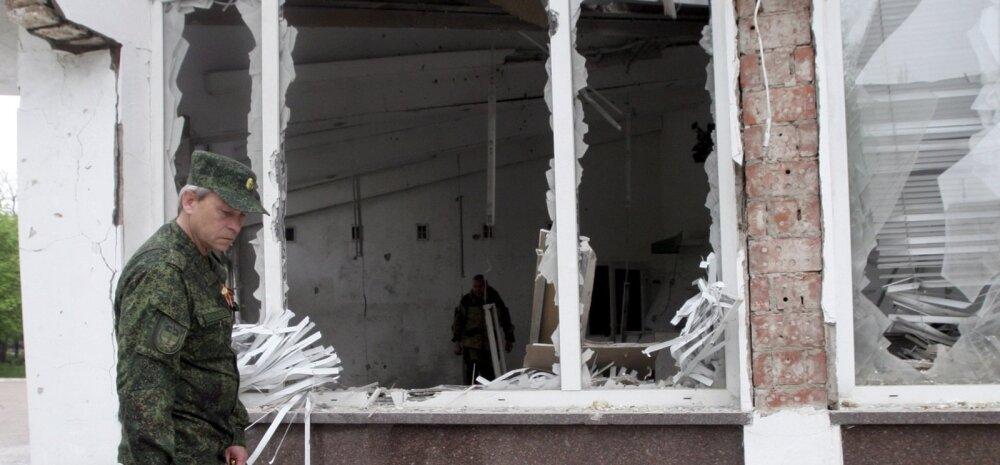 TASS: Luganski mässuliste juht hukkus autopommiplahvatuses