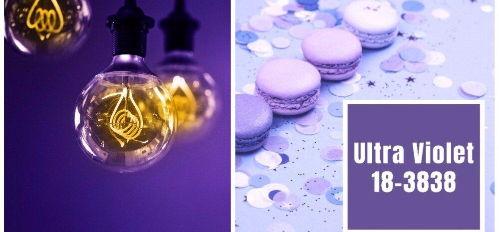 AASTA VÄRV 2018 on jõuline ja originaalne ultravioletne — vaata ideid!