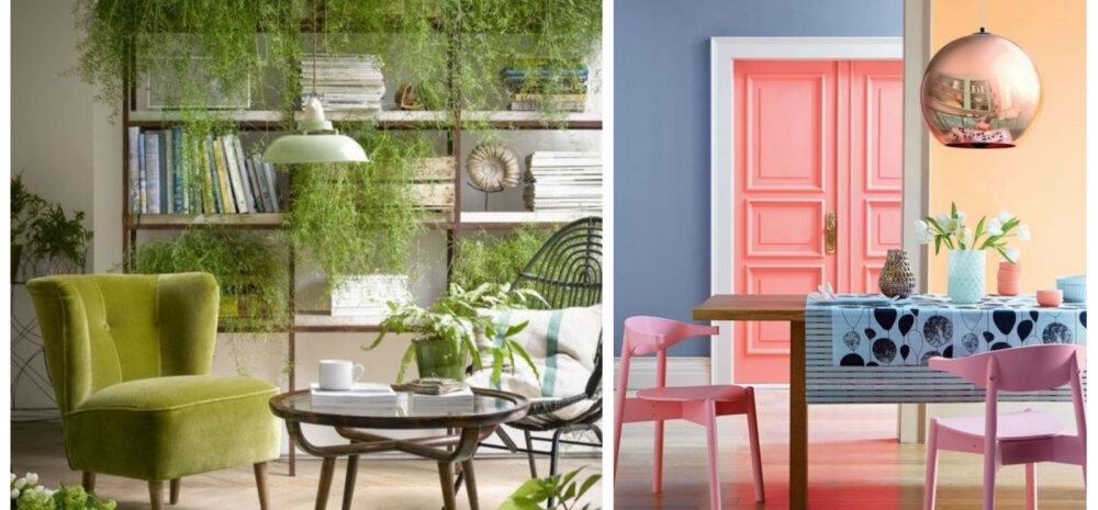 FOTOD │ Too kevad interjööri rõõmsate ja mahedate värvidega