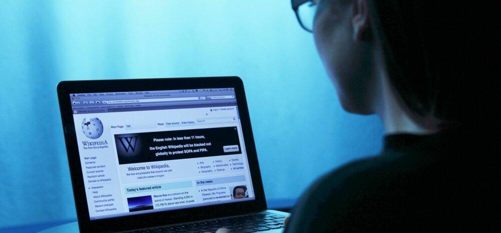 Venemaa interneti valvekoer andis käsu Vikipeedia blokeerida