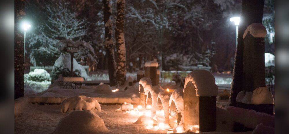 Küünlad kalmistul