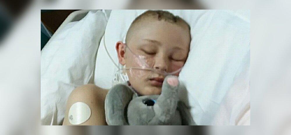 Napikas: poiss ärkas koomast vahetult enne seda, kui arstid ja vanemad ta surnuks kuulutanud oleks