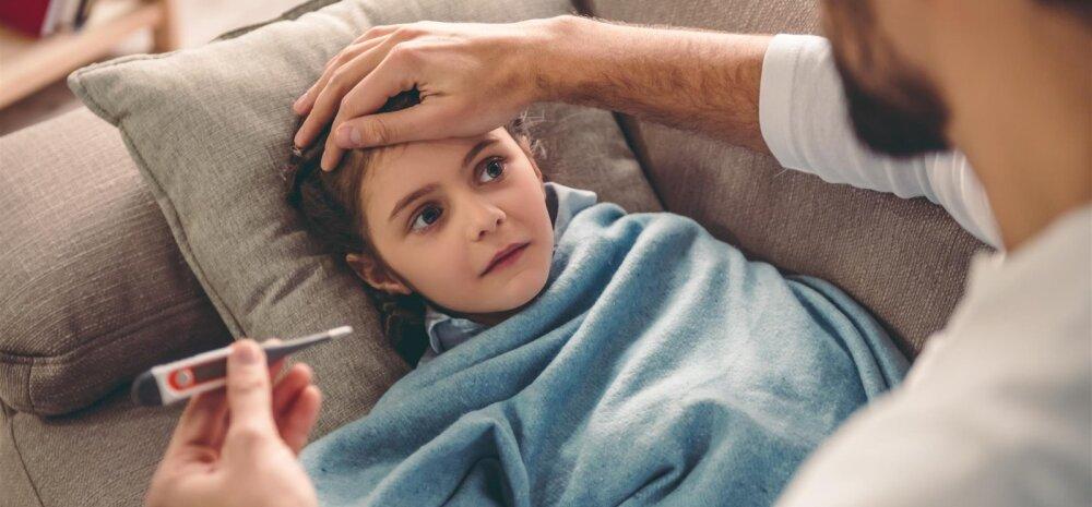 Kuidas saada aru, kui ohtlik on lapse palavik?