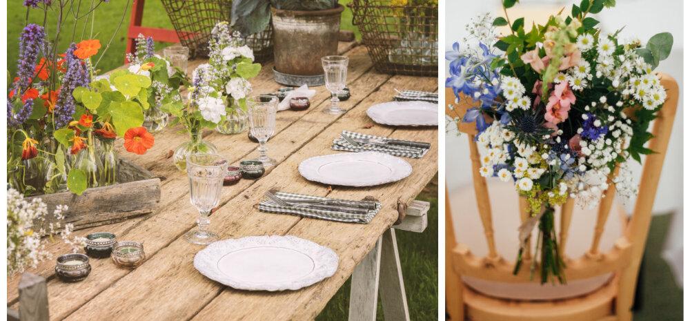 Праздник в саду: секреты летнего украшения стола
