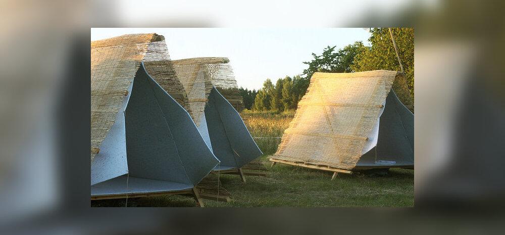 Eesti andekad disainerid lahendavad hüpikhotellidega olulise probleemi