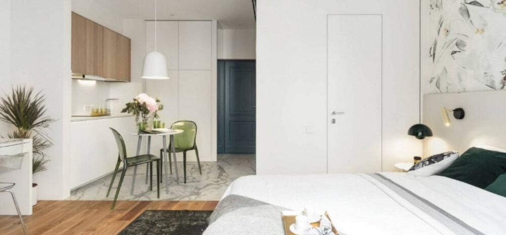 ФОТО | Уместить все на 27 м2: дизайн однокомнатной квартиры с нишей