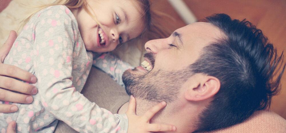 Tütred saavad isadelt palju rohkem hellust ja hoolt kui pojad