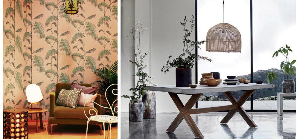 Sisustustrende Habitare messilt ehk minimalism ja küllus käsikäes