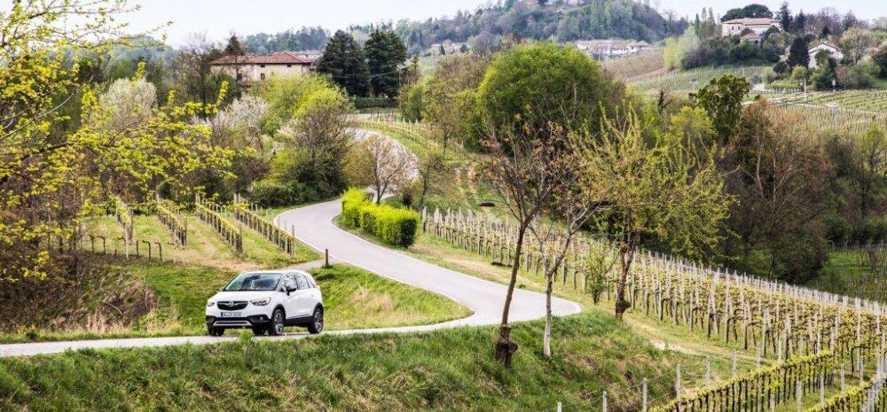 Pikk proovisõit: Opel Crossland X-ga risti läbi viie riigi