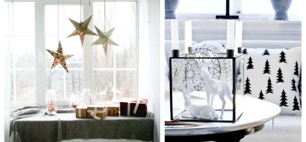 Lihtsad sisustusideed jõuludeks — pühad võivad tulla ka kulla ja karrata