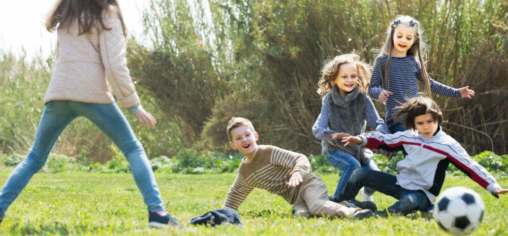 Neli mõjuvat põhjust, miks sport on laste isiksuse arendamisel kasulik ja asi pole muskli suuruses ega kiires jooksus