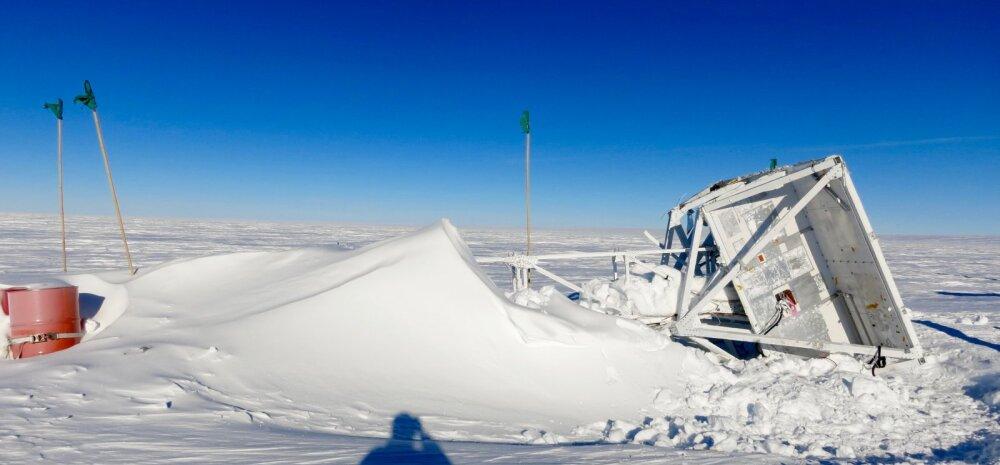 Aasta tagasi Antarktikasse kukkunud teleskoop leiti lõpuks üles ja on endiselt töökorras