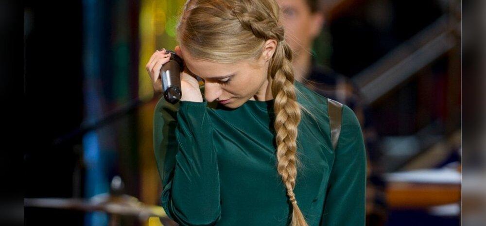 Maia Vahtramäe samade riietega mitu korda laval ei käi: no ei saa mitu korda kanda!