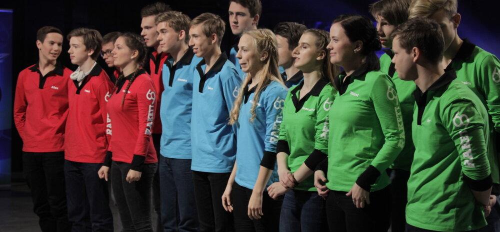 SAAME TUTTAVAKS: Need 15 noort teadushuvilist on tänavused Rakett69 saate osalejad