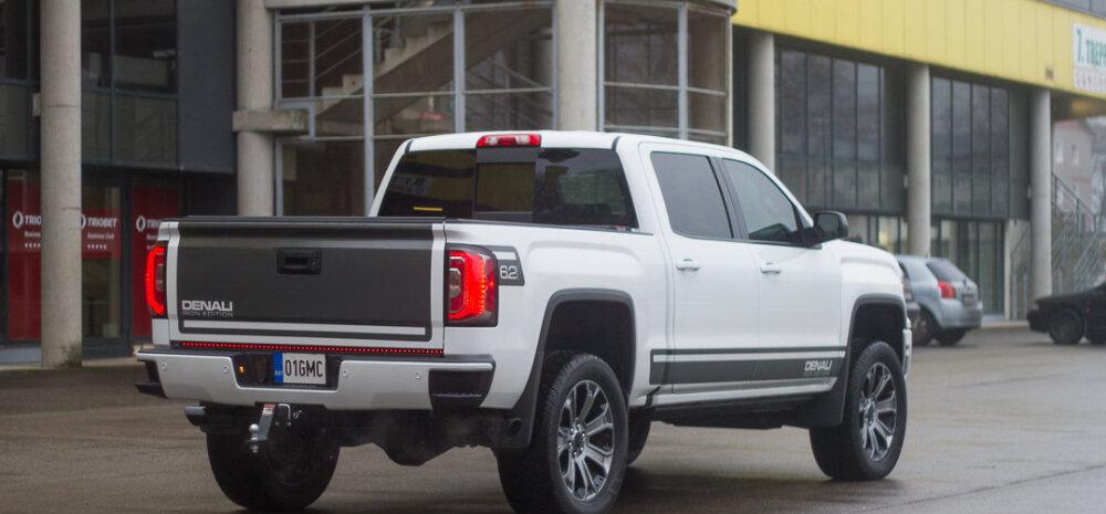Motorsi proovisõit: GMC Sierra Denali - pikkust on sellel kolakal 5,9 meetrit