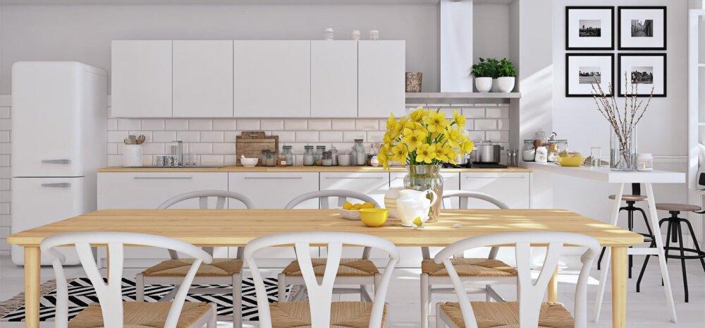 FOTOD | Kuidas kujundada täiuslik Skandinaavia stiilis köök?