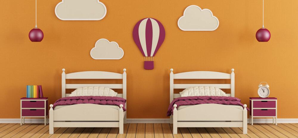 Kuidas luua lapsele mõnus tuba nii mängimiseks kui magamiseks