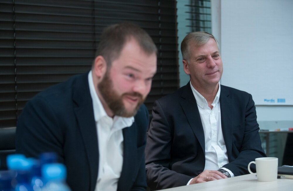 Est-For Investi juhid Aadu Polli ja Margus Kohava leiavad, et parim koht tehasele on Tabivere metsade keskel.