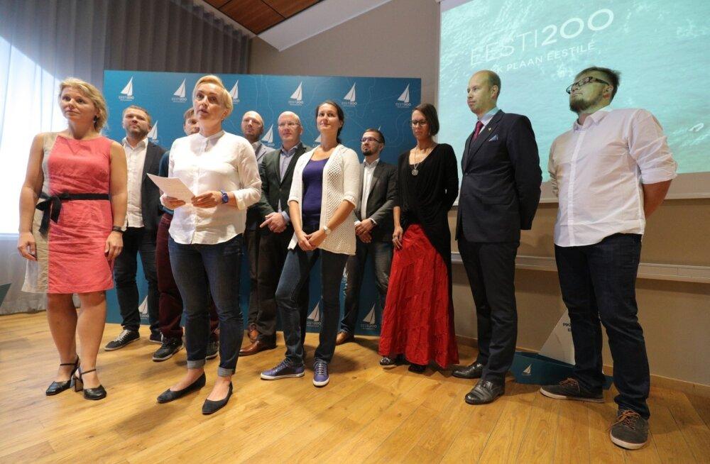 Eesti 200 kandideerib 2019 aasta Riigikogu valimistel