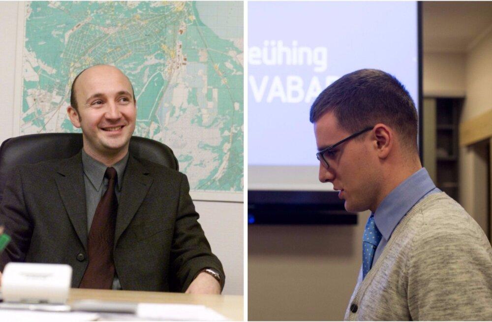 Leonid Tsingisser (vasakul) ja Sergei Metlev