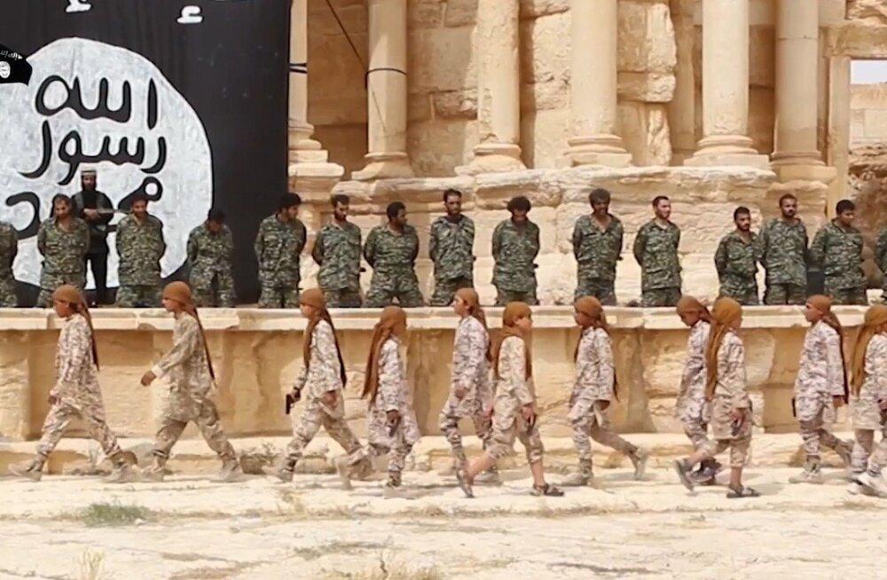 SYRIA-CONFLICT-PALMYRA