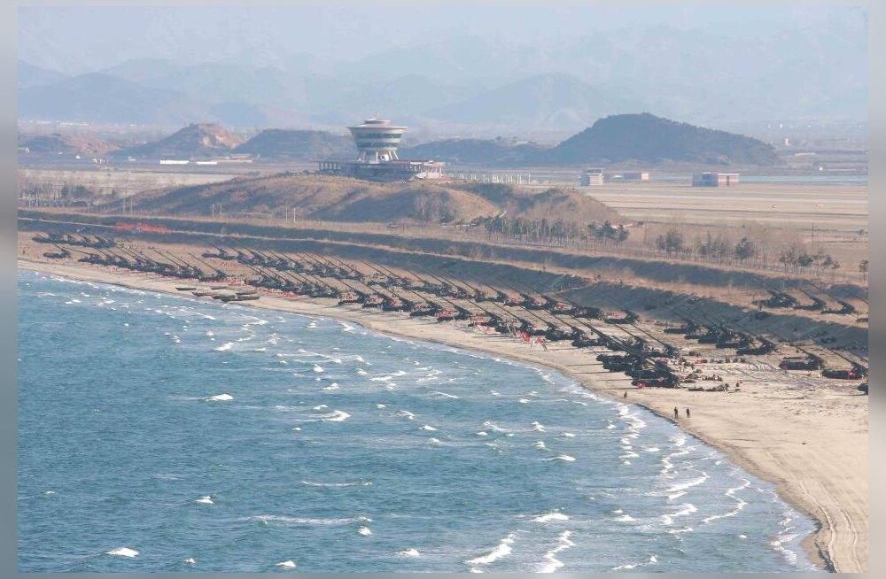 Северная Корея построит пляжный курорт мирового уровня рядом с действующим военным полигоном