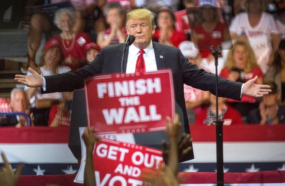 Donald Trump on viimased nädalad pühendanud kampaaniaüritustele, kuid osa vabariiklasi on nendel osalemist vältinud.