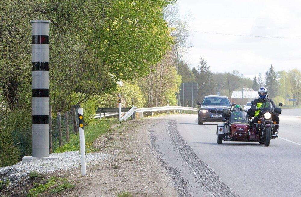 VIHAKÕNE   87 km/h sõitja, anna piirkiirusega sõitjatele teed!