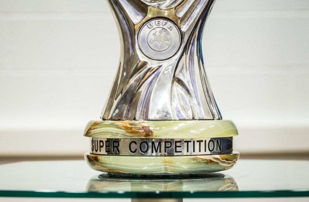 UEFA superkarika pressikonverents